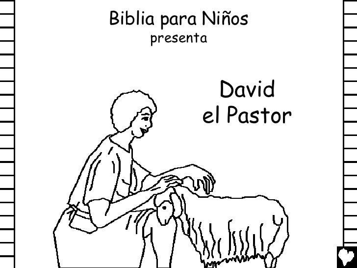 Dibujos Biblicos Para Colorear Del Rey David: David The Shepherd Boy Spanish Cb