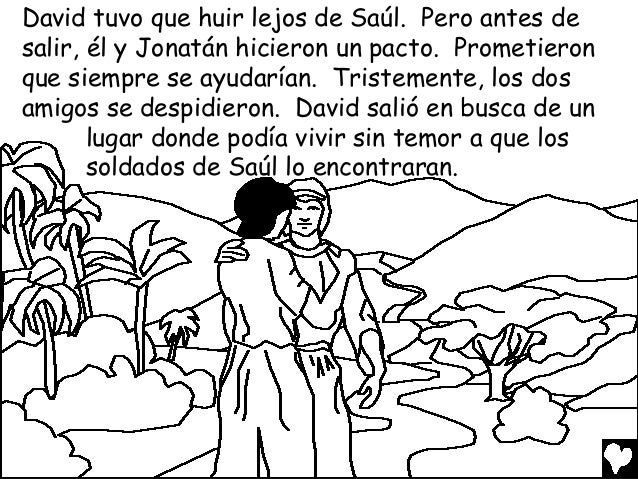 David the shepherd boy spanish cb