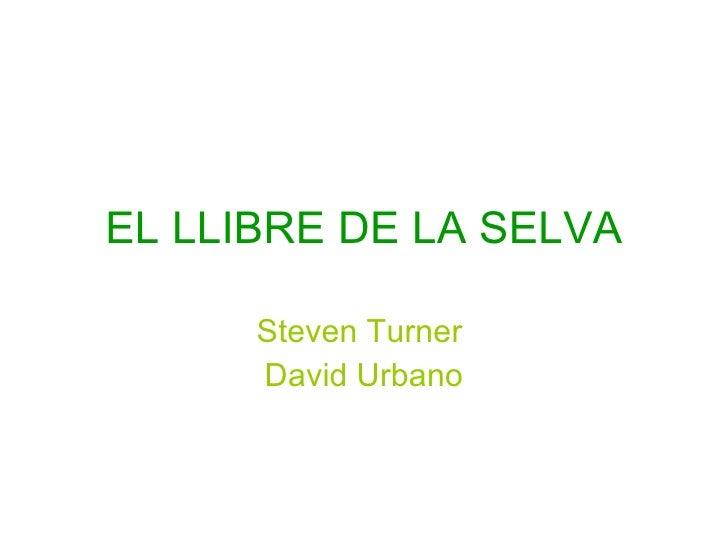 EL LLIBRE DE LA SELVA Steven Turner  David Urbano
