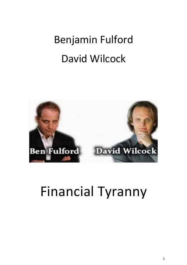 David Wilcock - Financial Tyranny, The Trillion Dollar Lawsuit