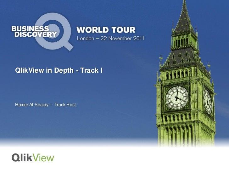 QlikView in Depth - Track IHaider Al-Seaidy – Track Host