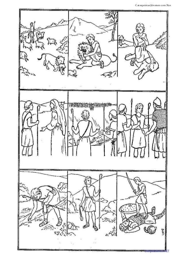 Encantador El Rey David Para Colorear Composición - Dibujos Para ...