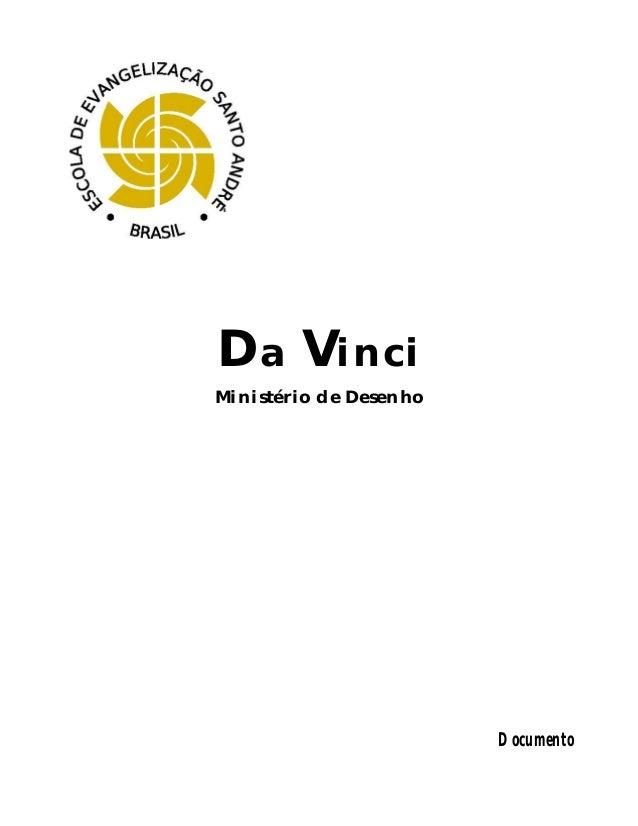 Da Vinci Ministério de Desenho  Documento