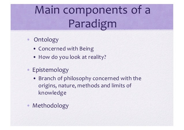 ontology vs epistemology Ontology vs epistemology 2625 words | 11 pages ontology deals with questions concerning what entities exist or can be said to exist what do we know.