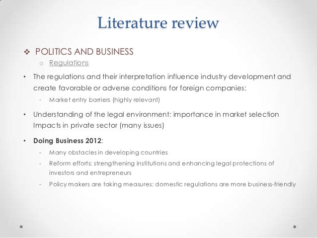 literature review barriers to internationalization Literature review 41 introduction the aim of this literature review is to present definitions of international marketing that are related with japan's sociocultural environment.