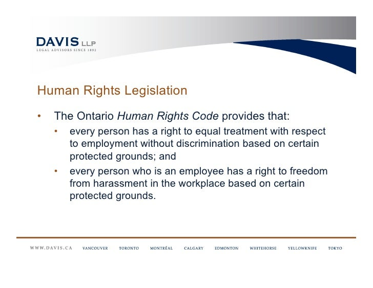 human rights and employer Rights and responsibilities for employers for employees for unions and the alberta human rights commission is an independent commission of the government.