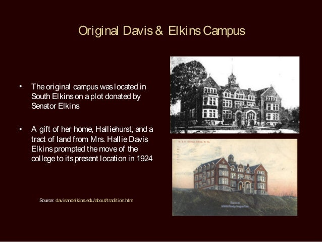 Davis And Elkins Room And Board