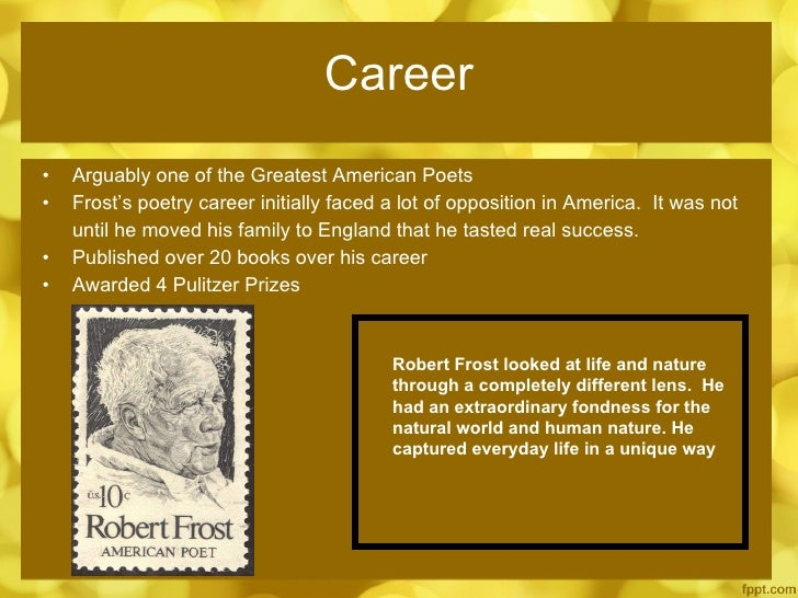"""a life biography of robert frost a poet of genius Robert frost's """"doubleness,"""" revealed in his letters—and poems jay parini, whose own biography of the poet, robert frost: a life, was written in part as a corrective to thompson, described the frost who emerges in the bald eagle,"""" when in fact his genius lay in """"the representation of the terrible actualities of life."""