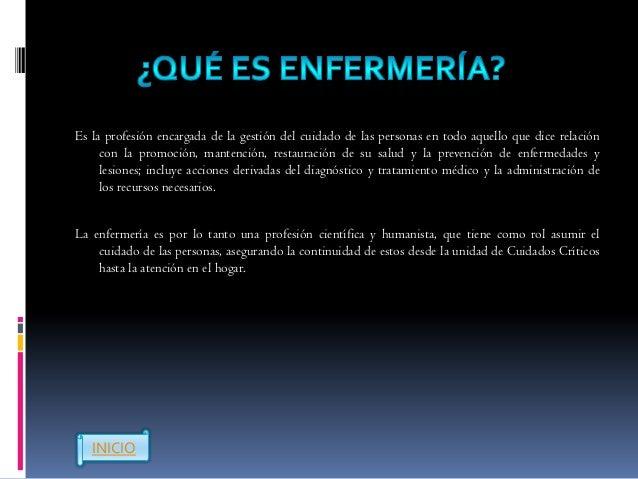    Nivel de formación: Profesional   Titulo: enfermero profesional   Duración: 9 semestres (4 años y medio)   Código S...