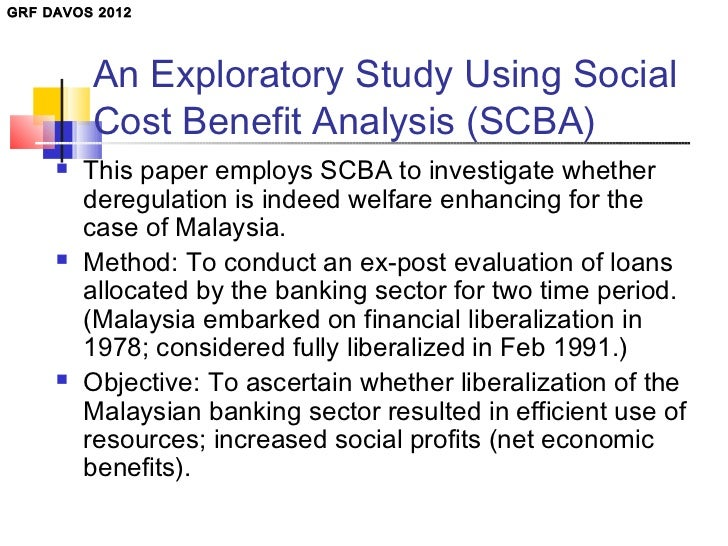 an analysis of the social and economic benefit Economic analysis guidebook january 2008  resources planning—environment, social equity, and economy economic analysis can play an important role in evaluating all three:  • benefit-cost analysis determines whether the direct social benefits of a proposed project or plan.