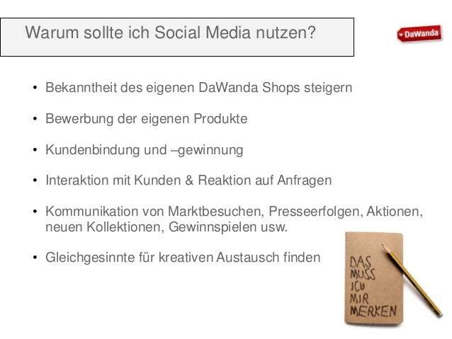 DaWanda Seminar Facebook für Anfänger Slide 3