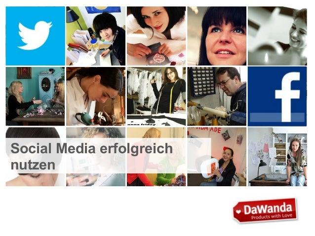Social Media erfolgreich nutzen