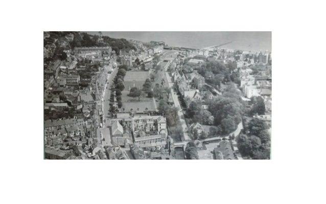 Dawlish Historic Arial View