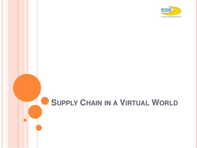 virtual supply chain Despite these benefits a big pharma is yet to virtualise its entire supply chain many companies have committed to outsourcing large portions of production but virtual model adoption has been restricted by concerns about the reliability of contract manufacturing organisations (cmo) pwc expects cmo.