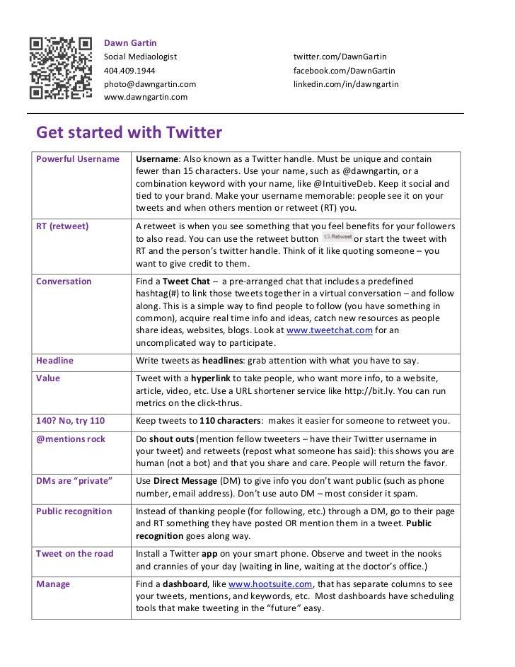Dawn Gartin                Social Mediaologist                             twitter.com/DawnGartin                404.409.1...