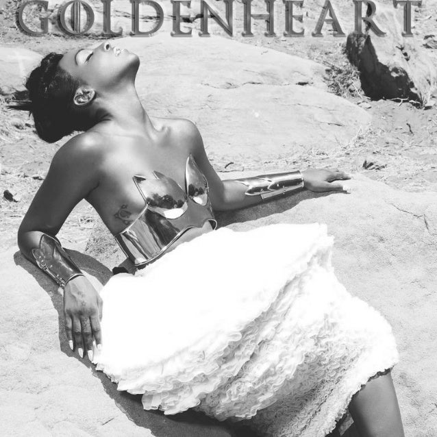 "Dawn Richard - ""Goldenheart"" Lyric Book"