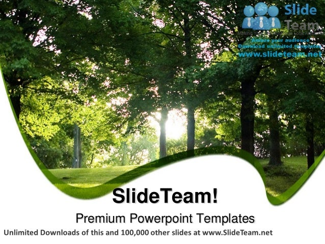 Powerpoint Templates Nature Themes