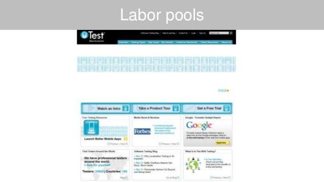 Labor pools