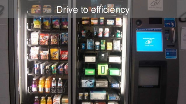 Drive to efficiency