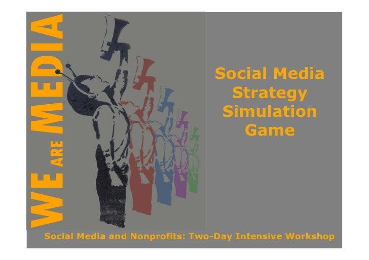 Social Media                                   Strategy                                  Simulation                       ...