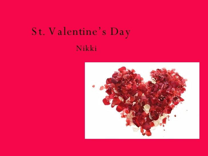 St. Valentine's Day Nikki