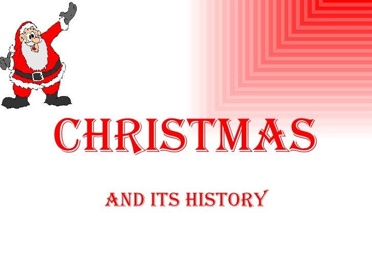 Christmas   And its history