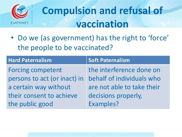 mandatory vaccine refusal using ethical theories With dr bob sears2 about the morality of vaccine refusal3 like sears, they do  not fault  physicians are required by the national childhood vaccine injury  act of 1986 (ncvia) to  theories endorse special concern for the vulnerable.