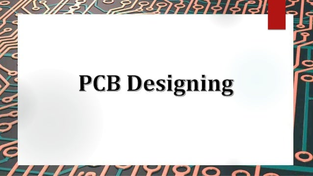 Introduction to PCB Printed Circuit Board can be shortly called as PCB PCB is a non conductive substrate that mechanical...