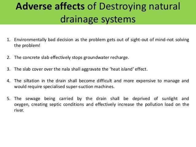 Restoring Natural Drainage System of Delhi