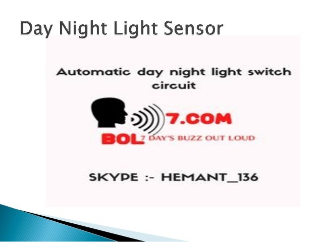 Day night-light-ldr-sensor