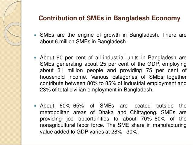 the role of smes in economic development