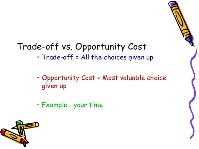 Key Dissimilarities Concerning Trade-off together with Business Cost