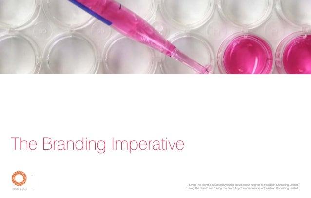 The Branding Imperative g