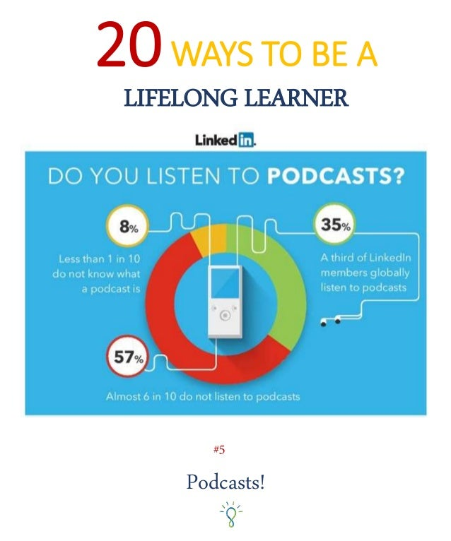 20WAYS TO BE A LIFELONG LEARNER Podcasts! #5