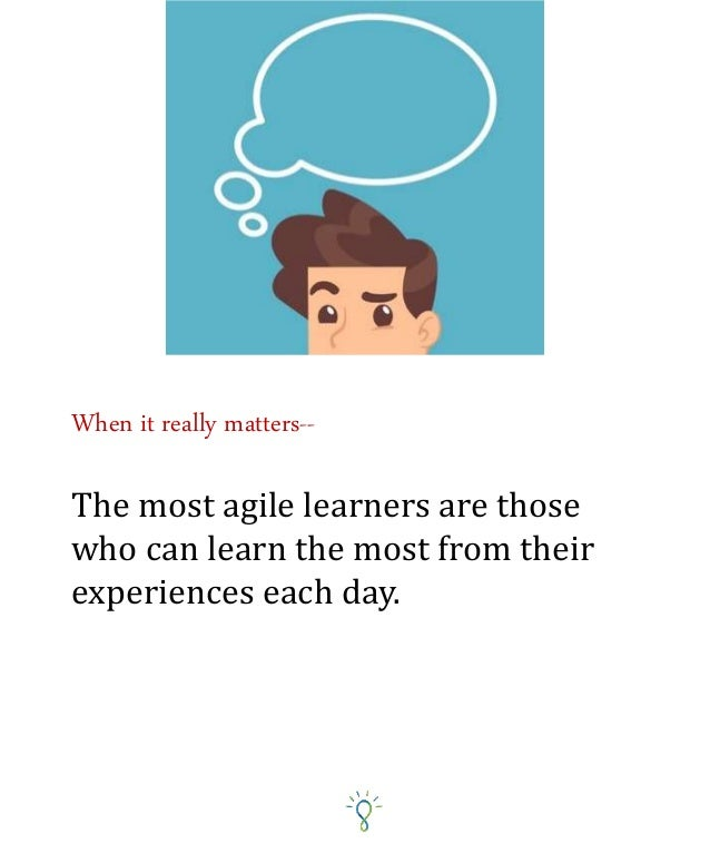 Experiential learning is actually the most natural form of learning for our species. From the time we were little children...