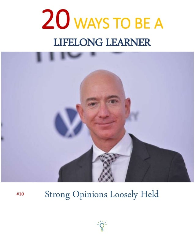 """Originally credited to Stanford Professor Paul Saffo, """"Strong Opinions, Loosely Held"""" is a philosophy that permeates how m..."""