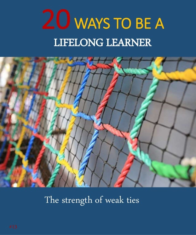 One of the most powerful ideas of all time in the field of Sociology is the strength of weak ties! About 4 decades ago, Gr...