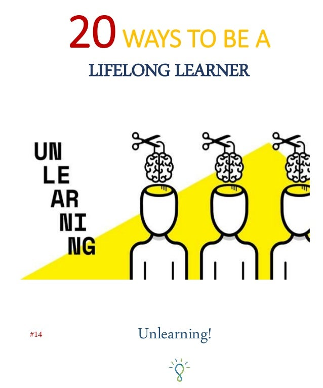 """Now strictly speaking there is no such thing as """"unlearning"""". Neural connections once made do not simply get disconnected...."""