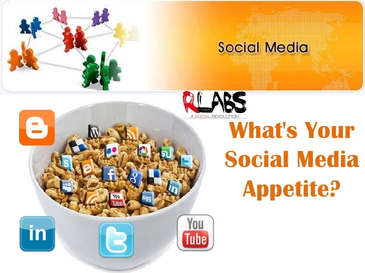 What's Your Social Media Appetite?