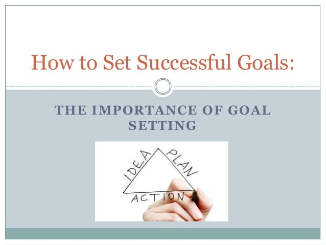"""the importance of setting goal in Achievement, wealth, and abundance are obvious answers to the question why is goal setting important"""" life satisfaction, self-confidence, and a greater sense of well being are equally important."""