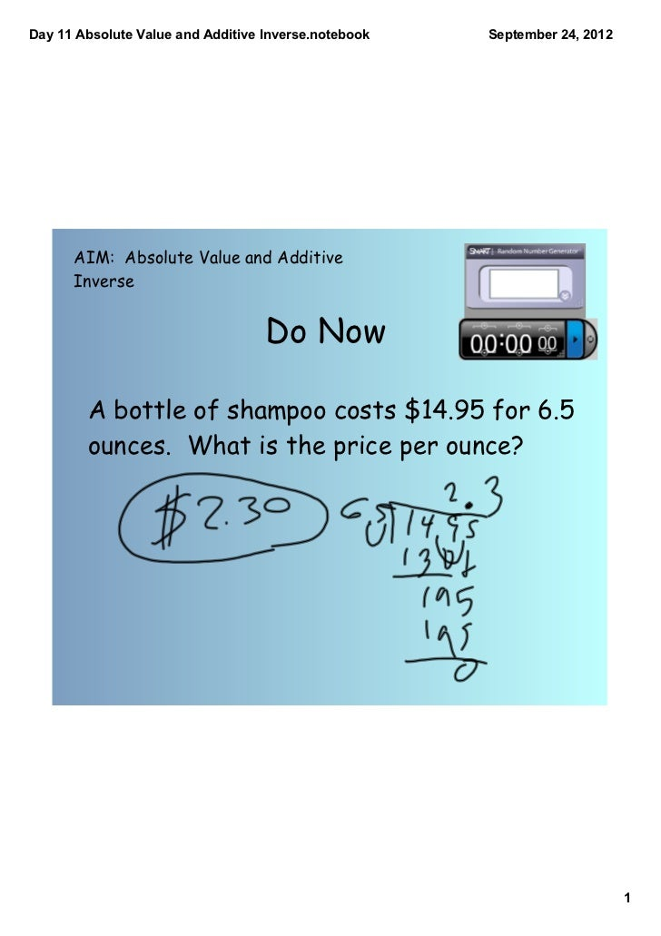 how to find the inverse of absolute value