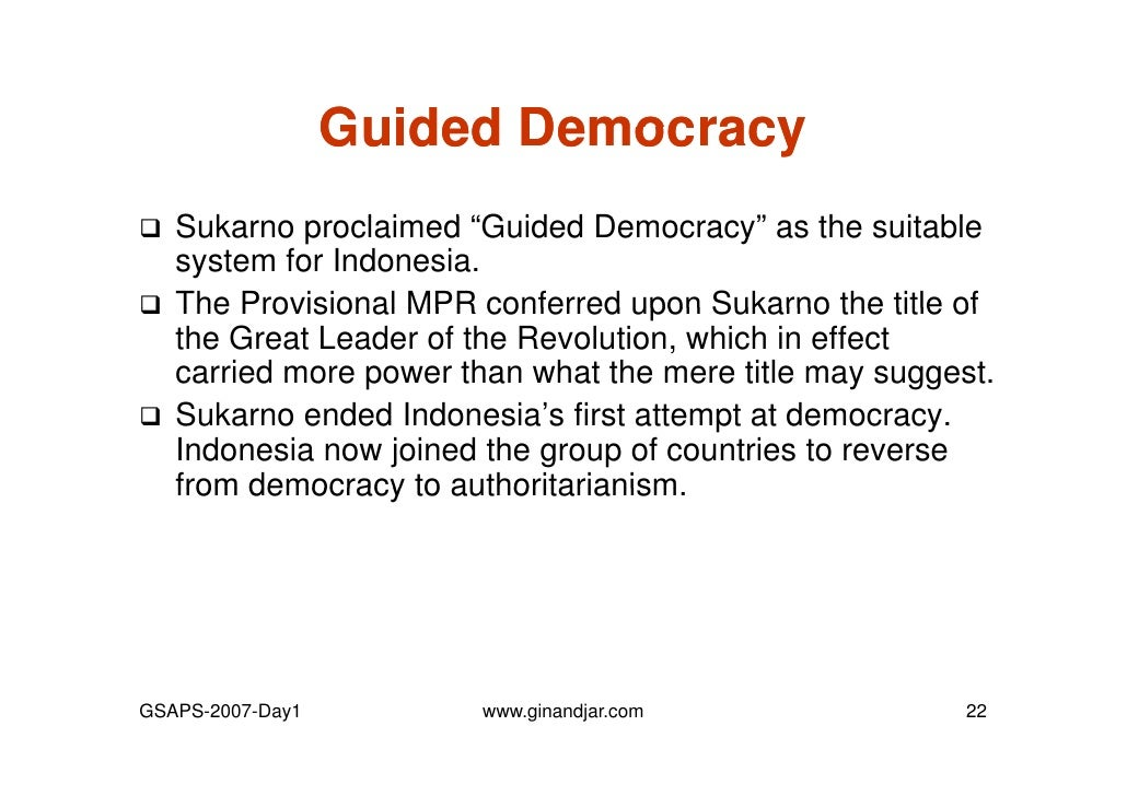 day 1 governance and economic crisis the case of indonesia rh slideshare net Democracy Quotes Democracy Quotes