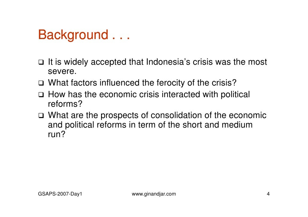 1997 Asian financial crisis