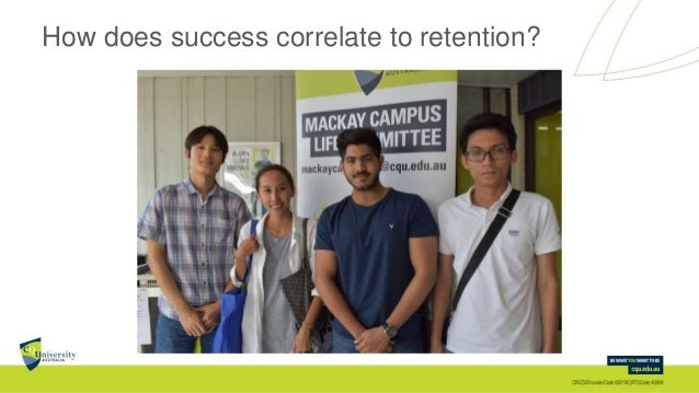 How does success correlate to retention?