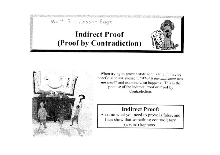 Day 1 - Proof by Contradiction