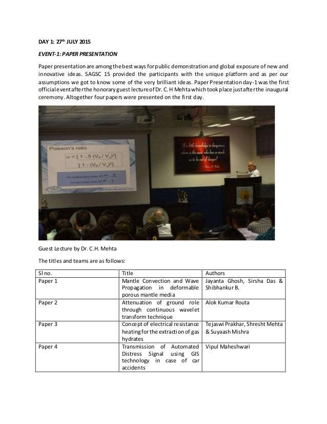 innovative topics for paper presentation