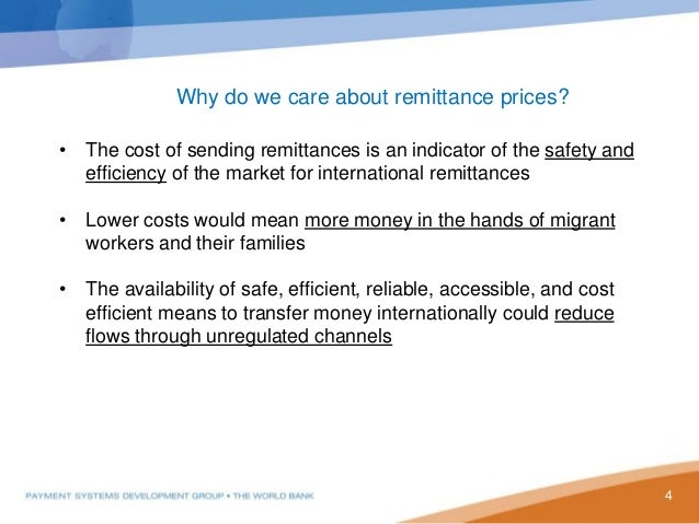 Global remittance trends and the role of African postal ...
