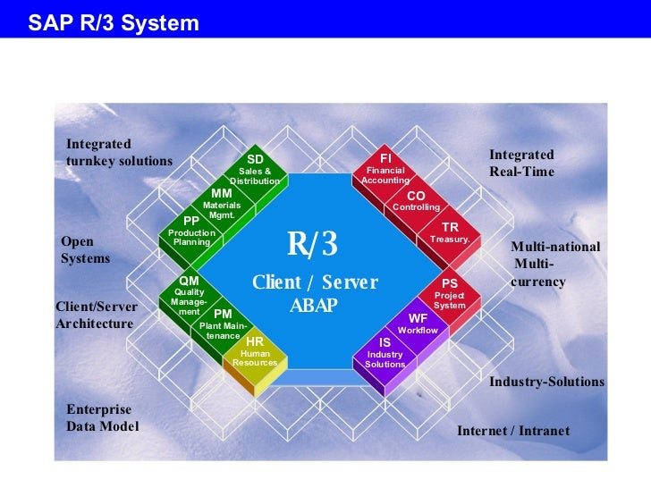 Day1 sap basis overview v1 1 for Sap r 3 architecture