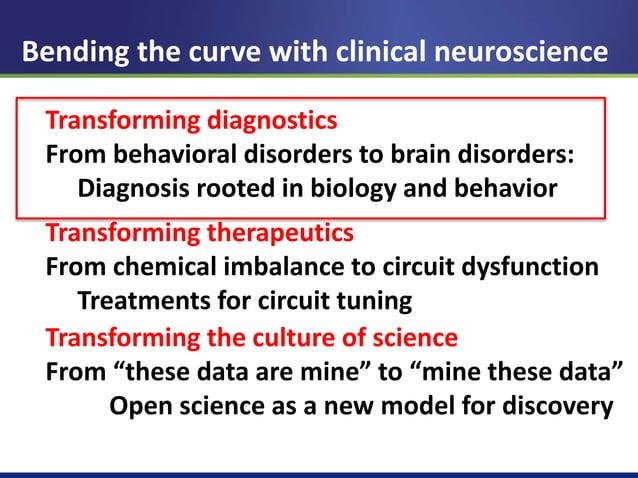 Defining mental illnesses as circuit disorders  OCD  PTSD  Depression  Insel. Sci Am, 2010