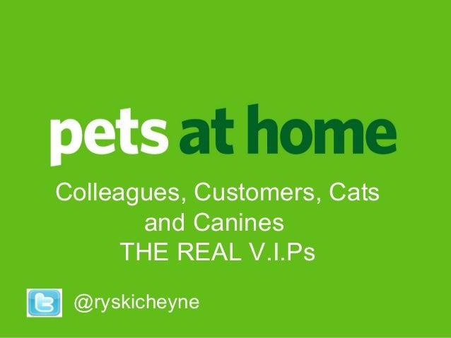 Ryan CheyneRyan Cheyne People DirectorPeople Director @ryskicheyne Colleagues, Customers, Cats and Canines THE REAL V.I.Ps